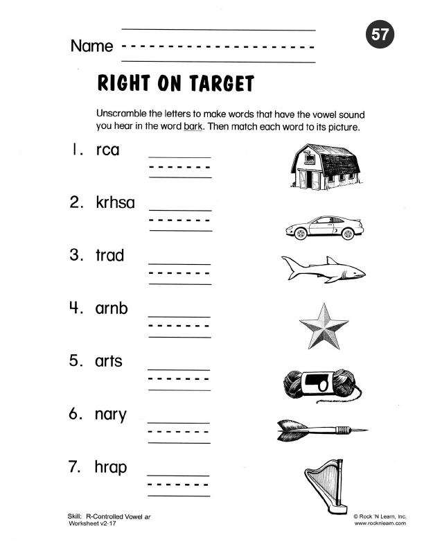 Free Printable Worksheets Phonics : Phonics worksheet