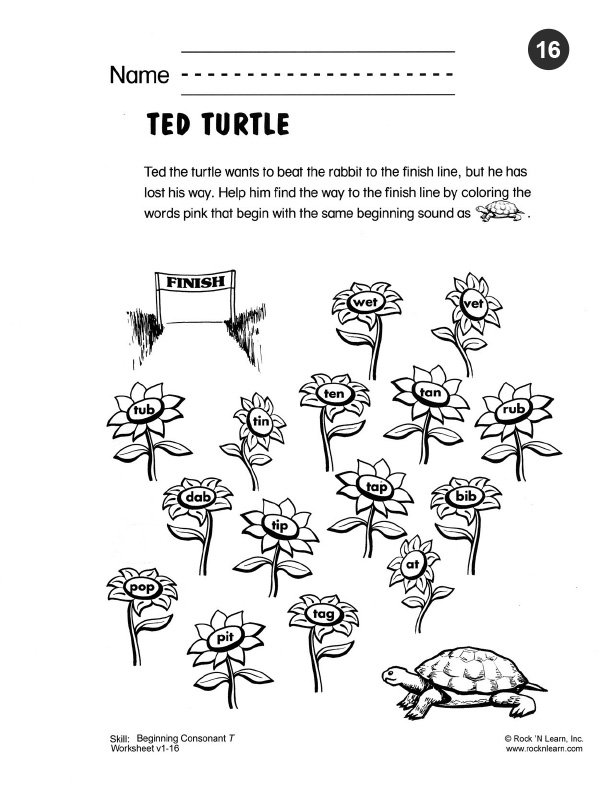 7 letter words ending with ted phonics worksheet 16 25234